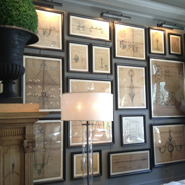 Restoration Hardware Gallery Furniture Home Store In San Francisco