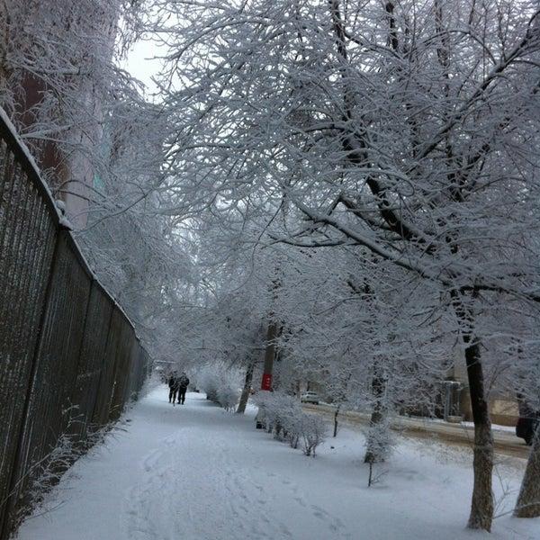 Photo taken at Орал / Уральск / Oral by 🌸Yana🌸 I. on 12/30/2012