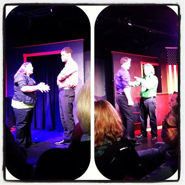 Photo taken at Brave New Workshop Comedy Theatre by Nicholas K. on 10/20/2012