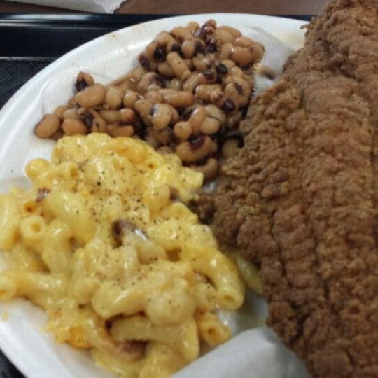 Photo taken at Nana's Soul Food Kitchen by Jill H. on 4/5/2014