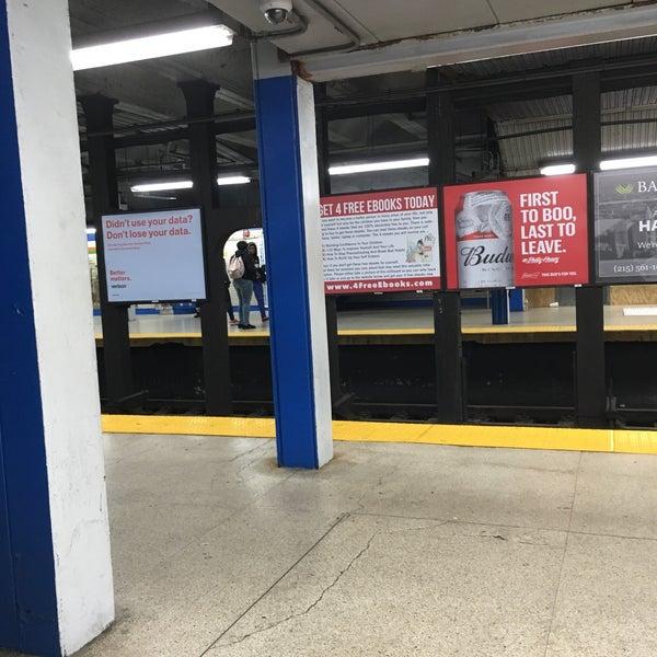 Photo taken at SEPTA MFL/TRL 15th Street Station by Charles M. on 10/8/2016