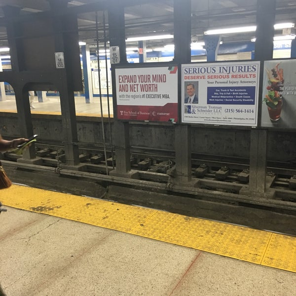 Photo taken at SEPTA MFL/TRL 15th Street Station by Charles M. on 6/12/2017