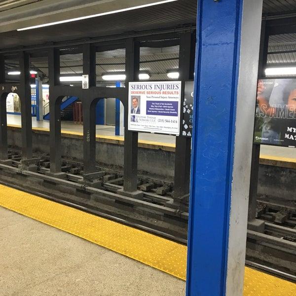 Photo taken at SEPTA MFL/TRL 15th Street Station by Charles M. on 3/28/2017