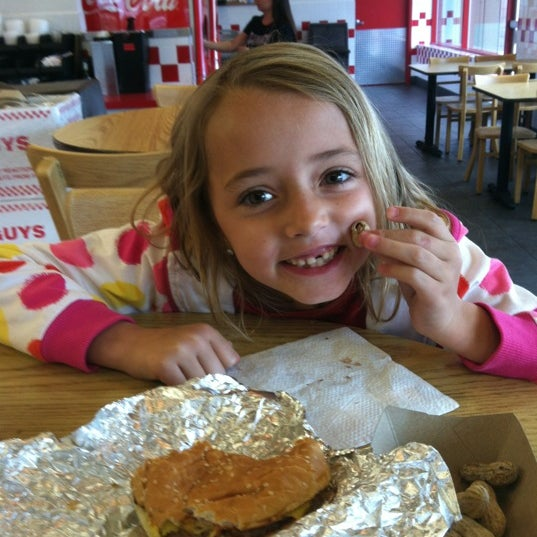 Photo taken at Five Guys by Jim W. on 11/15/2012