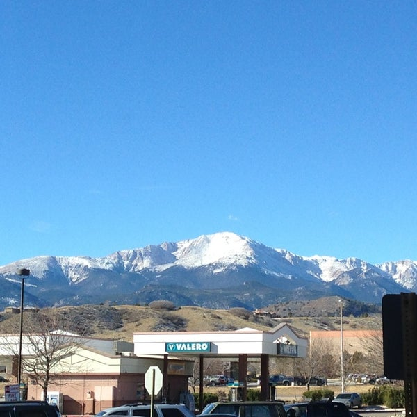 Great view of Pikes Peak.