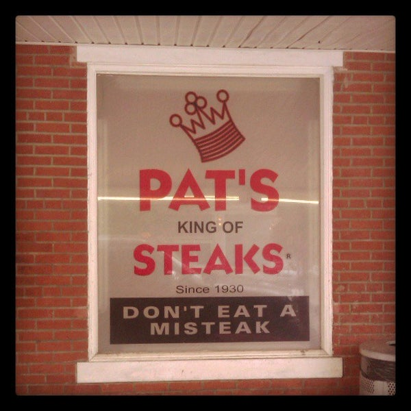 Photo taken at Pat's King of Steaks by DJ Wolf N. on 5/7/2013
