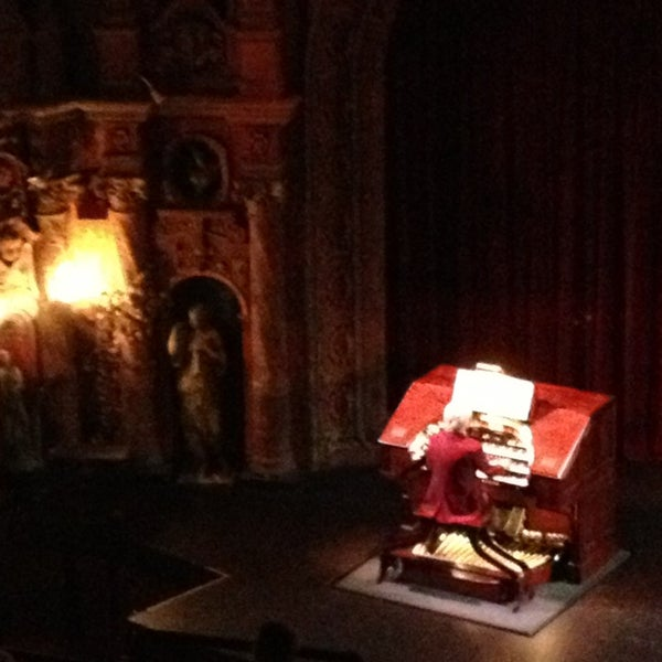 Photo taken at Tampa Theatre by Lori B. on 1/2/2013