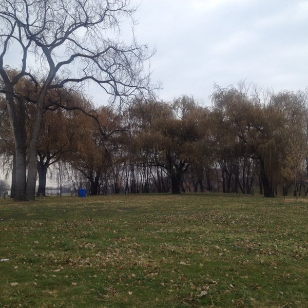 Photo taken at Island Park by Kate A. on 11/16/2013