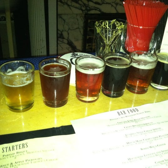 Photo taken at The Brewer's Art by Tess M. on 12/14/2012
