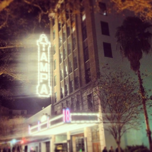 Photo taken at Tampa Theatre by Cristina G. on 1/20/2013
