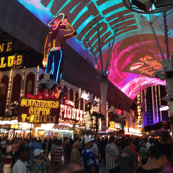 Photo taken at Fremont Street Experience by Ray G. on 5/13/2013