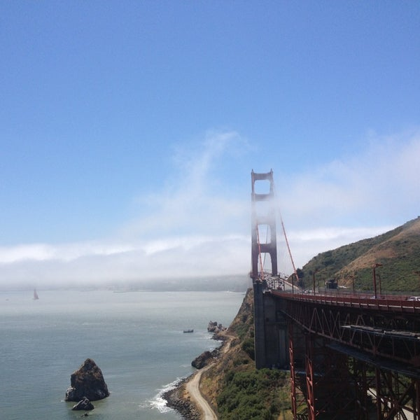 Photo taken at Vista Point by Ilya K. on 6/7/2013