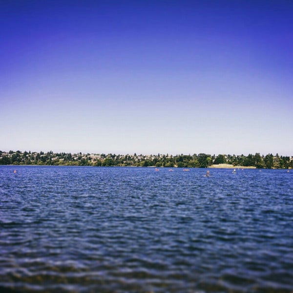 Photo taken at Green Lake Boathouse by P. W. on 7/3/2015