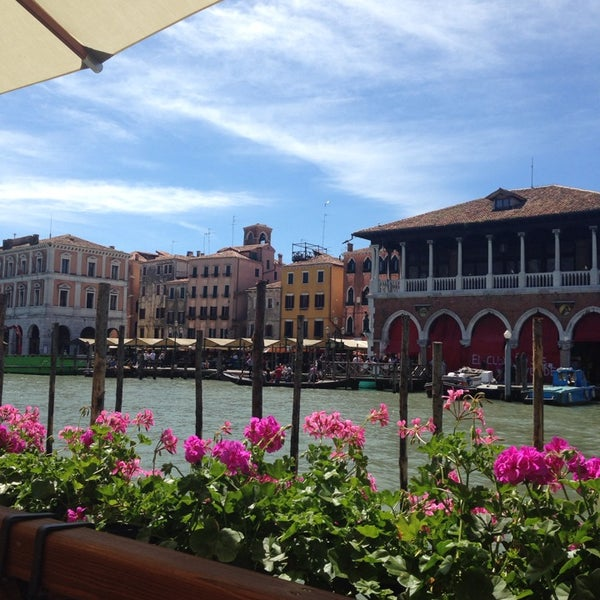 Photo taken at Ca' Sagredo Hotel Venice by Diandra W. on 5/17/2014