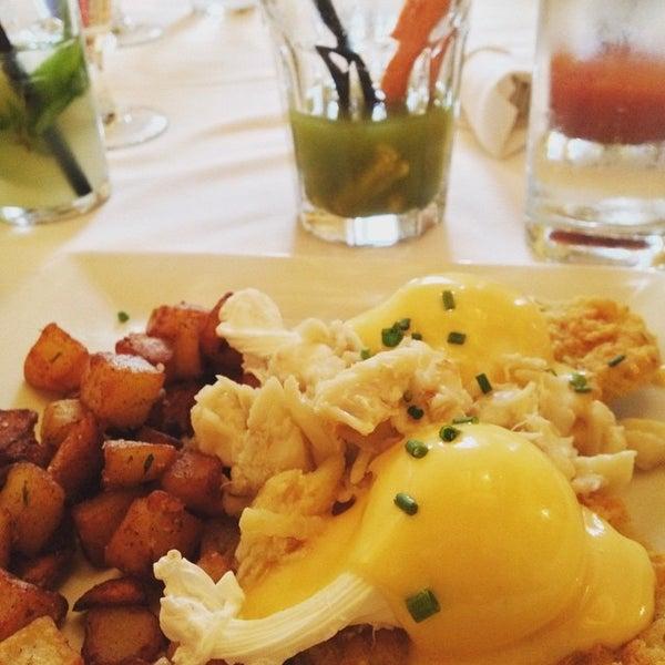 Photo taken at Atchafalaya Restaurant by Lisa on 5/15/2015