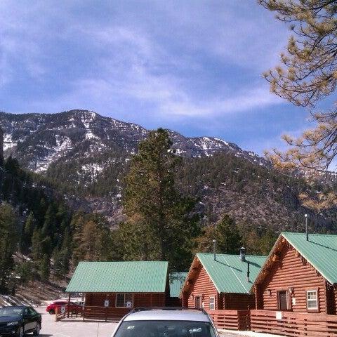 Photo taken at Mt Charleston Lodge by Kayt L. on 3/15/2013