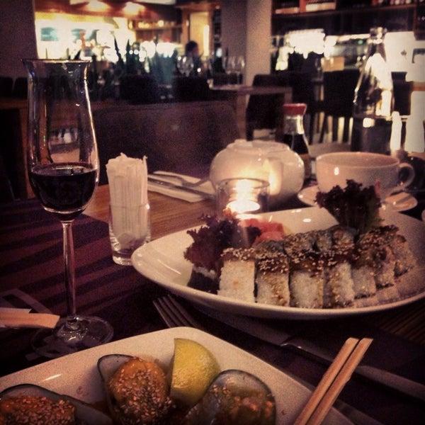 Photo taken at Zebra Café by Anastasia on 9/12/2013