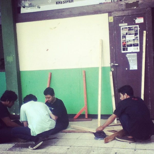 Photo taken at Institut Ilmu Sosial dan Ilmu Politik (IISIP) by Mega H. on 6/17/2013