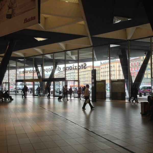 Photo taken at Napoli Centrale Railway Station (INP) by azuki on 5/21/2013