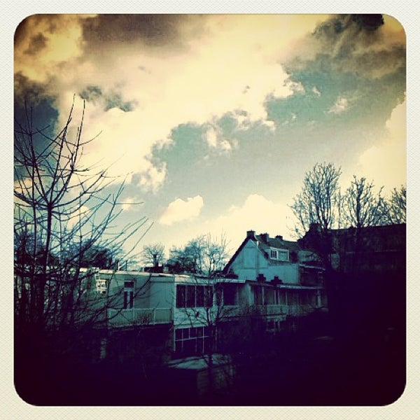 Photo taken at Archimedesweg by Ria B. on 12/30/2012