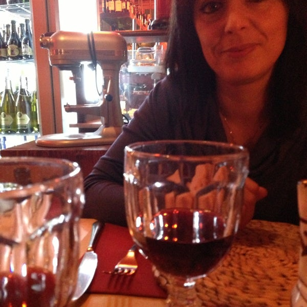 Photo taken at Da Gigi Trattoria by Simone B. on 2/1/2013