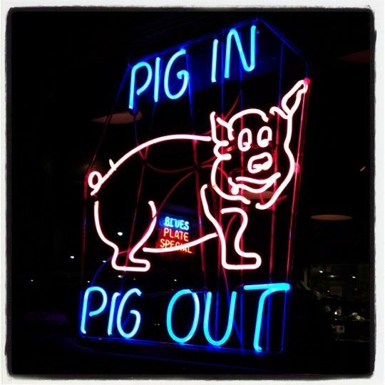Photo taken at Dinosaur Bar-B-Que by Annie K. on 10/21/2012