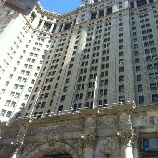 Photo taken at NYC Municipal Building by Savannah P. on 4/6/2013