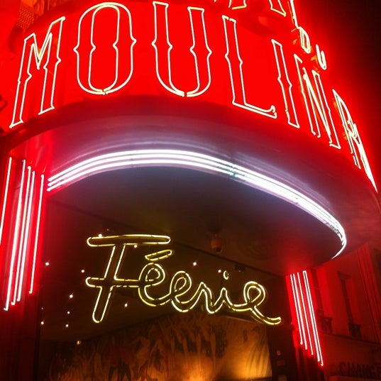 Photo taken at Moulin Rouge by Alexander V. on 1/1/2013