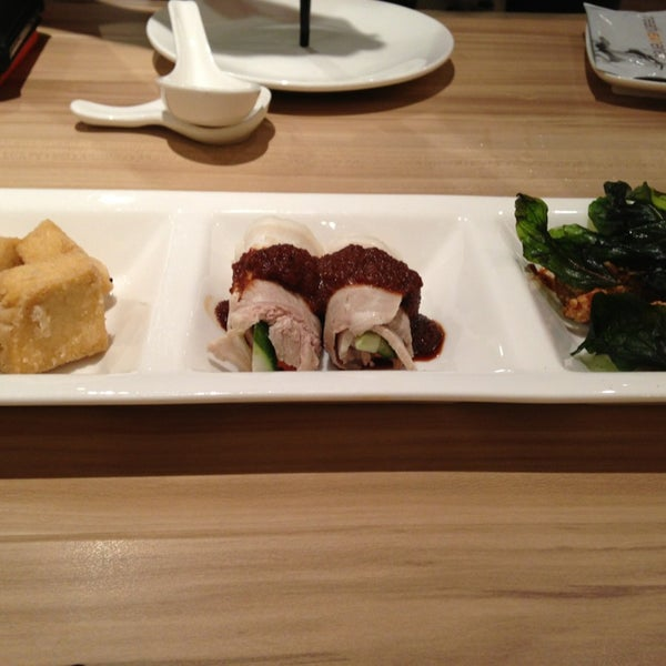 Photo taken at XiMenDing (西门町) Taiwan Cuisine by Annie M. on 1/24/2013