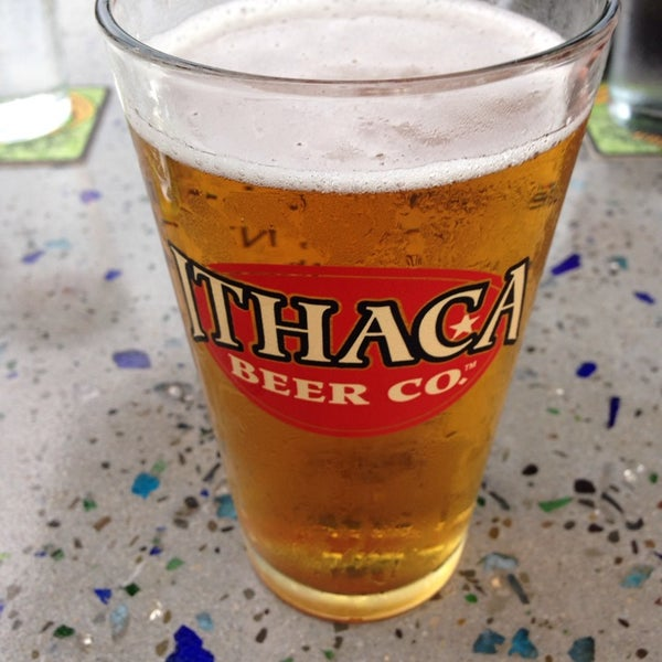 Photo taken at Ithaca Beer Co. Taproom by John B. on 7/7/2013