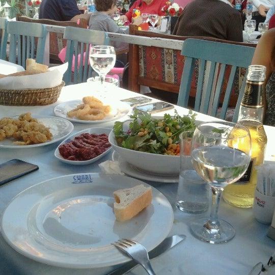 10/13/2012 tarihinde Murat Ö.ziyaretçi tarafından Çapari Restaurant'de çekilen fotoğraf