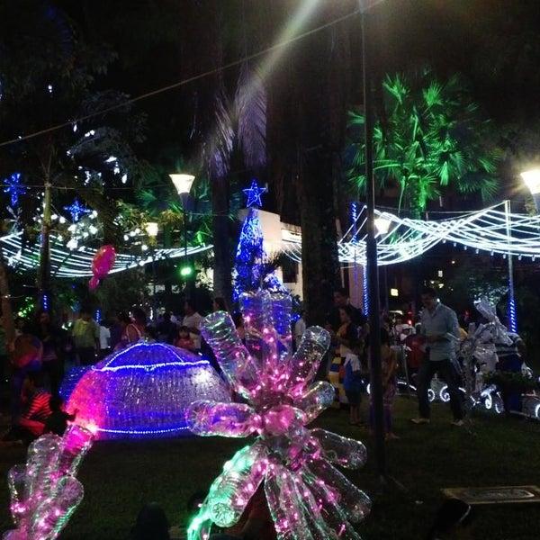 Photo taken at Parque Las Palmas by Pedro C. on 11/24/2013