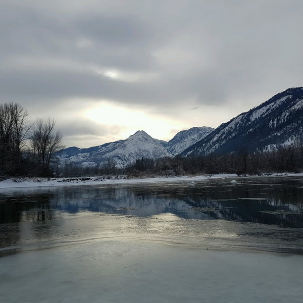 Photo taken at Town of Leavenworth by Caitlin H. on 12/26/2016