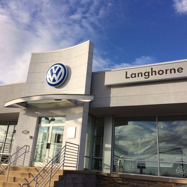Piazza Volkswagen Of Langhorne Langhorne Pa