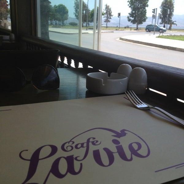 Photo taken at Cafe La Vie by tugce a. on 5/25/2013