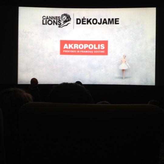 Foto scattata a Forum Cinemas Akropolis da Gabrielė G. il 11/27/2012