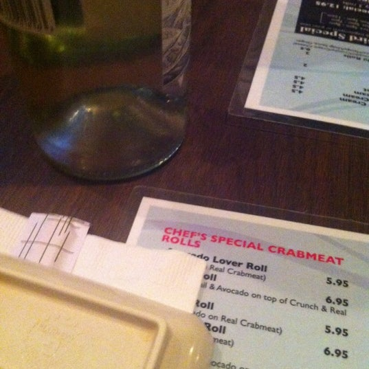 Photo taken at Cherin Sushi by Colby M. on 10/12/2012