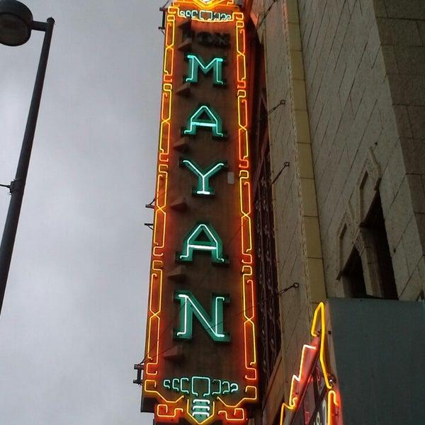 Photo taken at Mayan Theatre by Luis R. on 4/6/2014