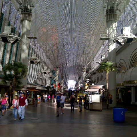 Photo taken at Fremont Street Experience by Stephanie D. on 5/7/2013