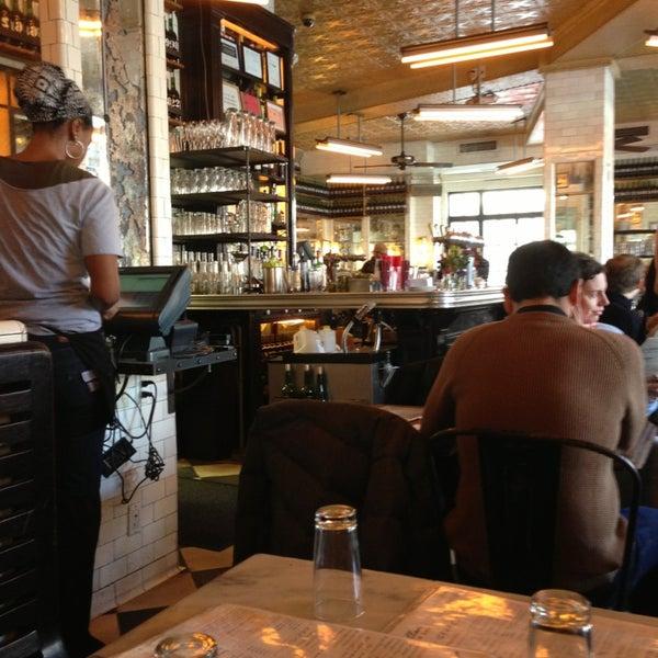 Photo taken at Schiller's Liquor Bar by Kim M. on 2/10/2013