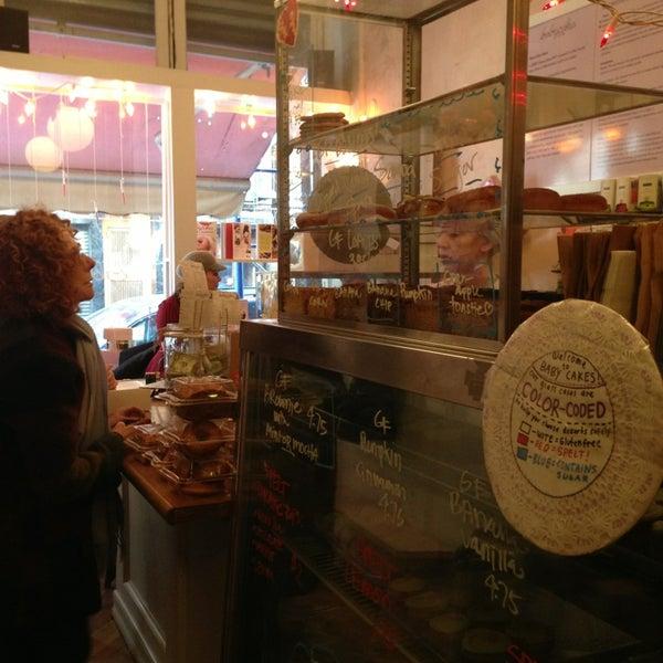 Photo taken at Erin McKenna's Bakery by Kim M. on 2/10/2013