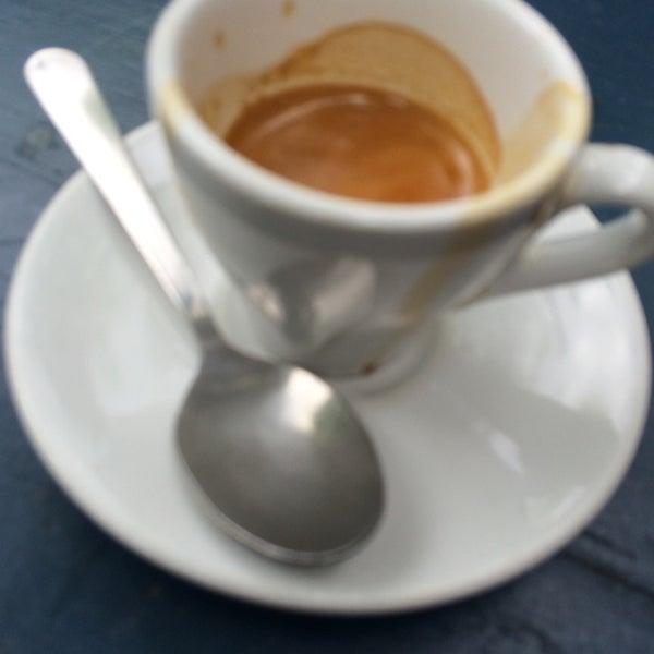 Photo taken at Bodhi Coffee by Ken B. on 5/18/2014