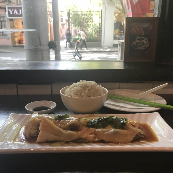 Photo taken at Five Star Hainanese Chicken Rice by Andi L. on 10/25/2017