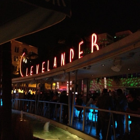 Photo taken at Clevelander South Beach Hotel and Bar by Ville N. on 10/28/2012