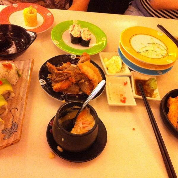 Photo taken at Sakae Sushi by vOn on 2/16/2013