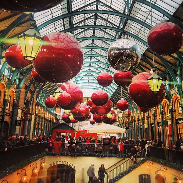 Photo taken at Covent Garden Market by Will N. on 12/27/2012