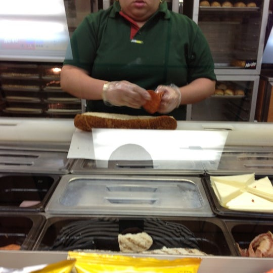 Photo taken at SUBWAY by Manny A. on 10/17/2012