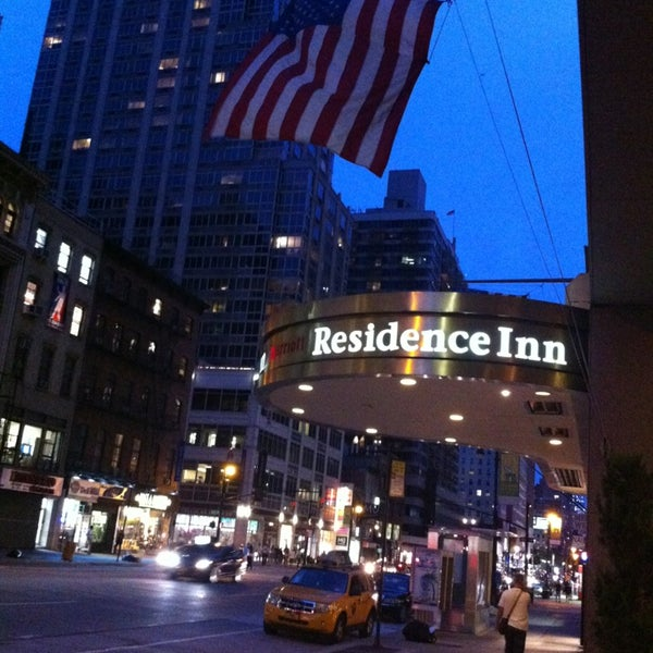 18 And Older Hotels In New York: Residence Inn By Marriott New York Manhattan/Times Square