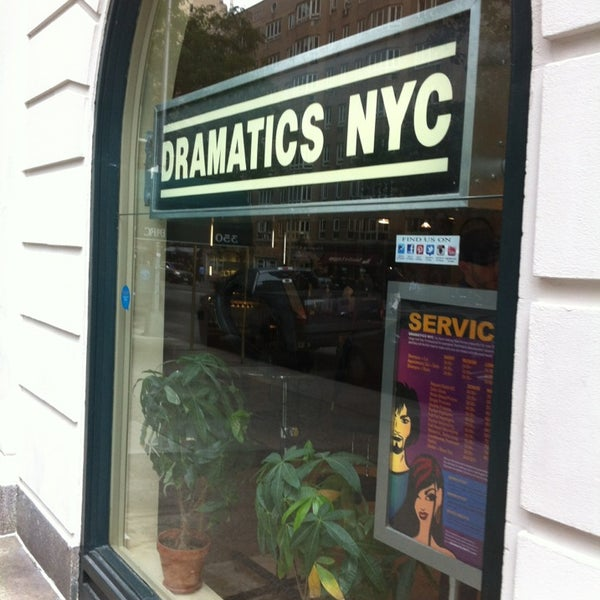 dramatics nyc 57th street salon barbershop in new york