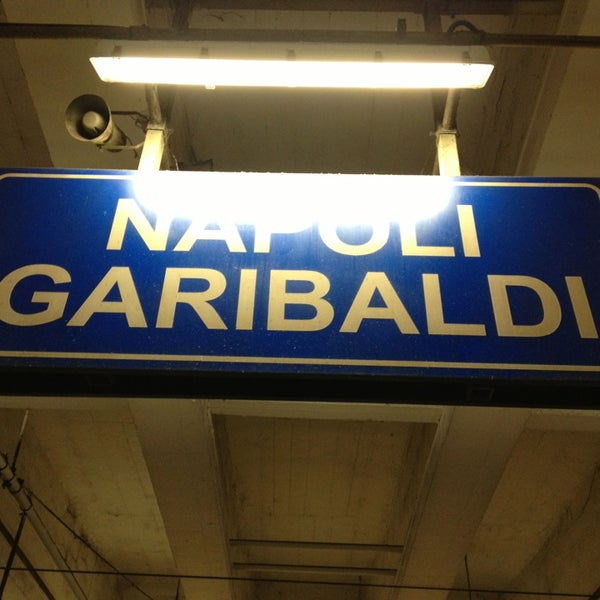 Photo taken at Napoli Centrale Railway Station (INP) by Yasin H. on 5/25/2013